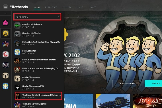 Bethesda.net Launcher my game