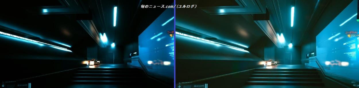 サイバーパンク2077HDR比較3
